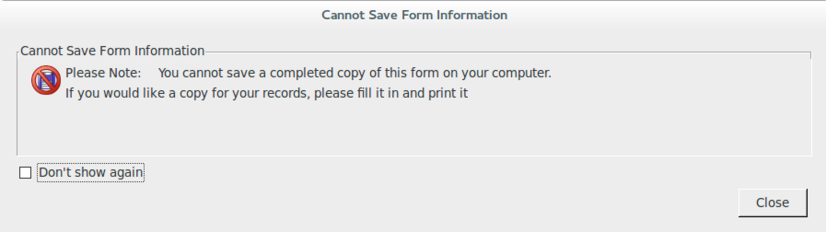 Go F*** Yourself -- You cannot save this file.